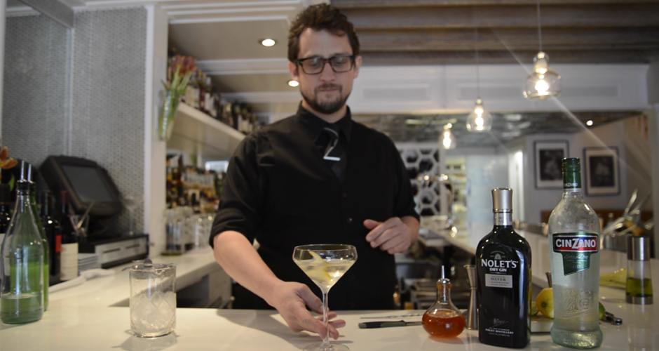 Click through the gallery for a martini master class...