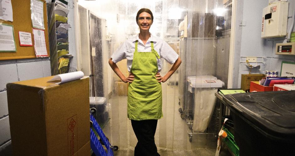 Melissa Weller of East River Bread. (Photo: Liz Barclay)