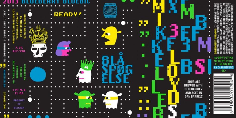 Mikkeller meets 3 Floyds meets Pac-Man. Everyone wins.