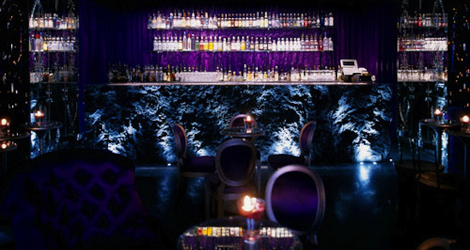 """Name: B&B King  Cost: £490 (about $768)  What it is: The menu at London's Purple Bar, located in the ultra-cushy Sanderson Hotel, proclaims its take on the 1940s classic drink """"the most opulent cocktail"""" currently available in the city. Created using two ingredients that actually date to the 1940s—a Martell extra cognac and Benedictine liqueur—we don't doubt it. Perfect for washing down one of the bar's burgers, which sets patrons back about thirty U.S. dollars. (Photo:  Sanderson Hotel)"""