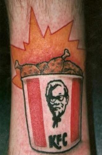 Colonel Sanders couldn't be prouder. (Photo: Roger Gastman)