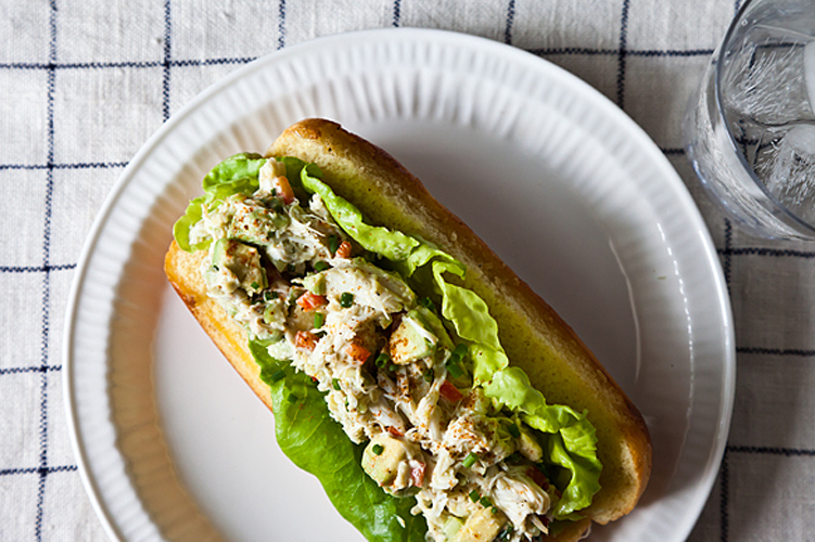 Avocado Crab Rolls. Summer in a bun: a butter-toasted roll bursting with crab and bound by avocado mayonnaise. Get the recipe.