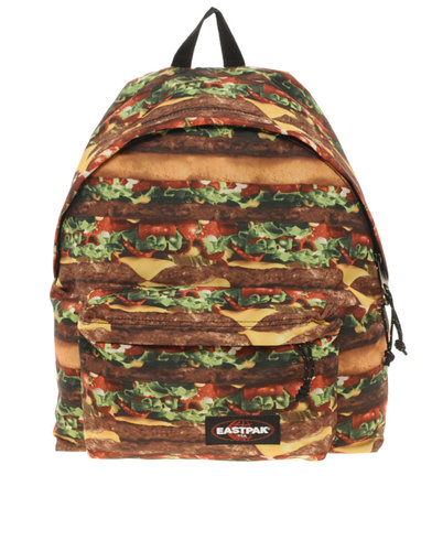 Eastpak has designed the most graphic burger bag on the market. Its Hungry Henry series offers Eastpak.com. (Photo: Eastpak)