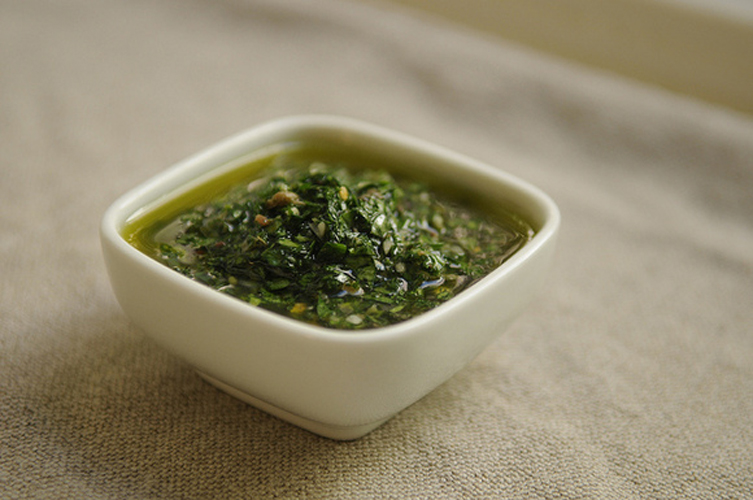 Salsa Verde. You just can't go wrong with salsa verde. There is no other sauce that extracts summer resources so vividly, or that pairs so well with other summer foods like grilled fish, chicken or steak. Get the recipe.