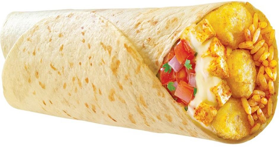 taco bell potato paneer facebook
