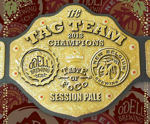 Any beer label that invokes WWF wrestling is a suplex off the top rope.