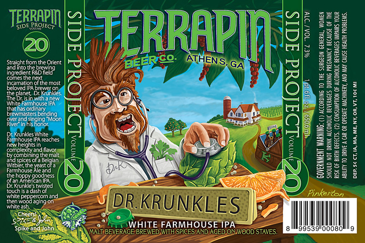 Terrapin's Dr. Krunkles series—built for the brewery's more offbeat experiments—are always the best.