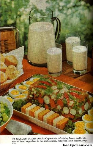 """""""Garden Salad Loaf"""""""