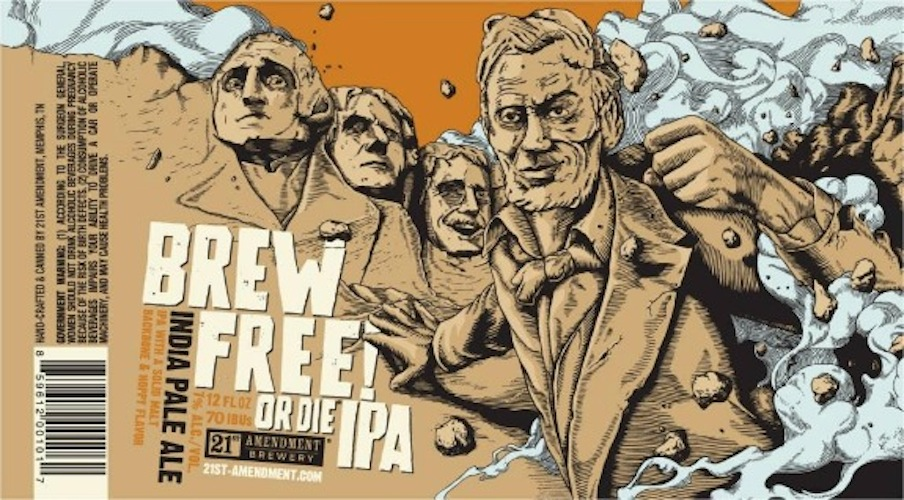 21st Amendment lives up to its name with an American history-inspired beer.