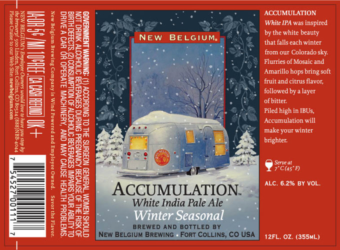 We'll forgive the seasonal creep of this label release because it's so inviting.
