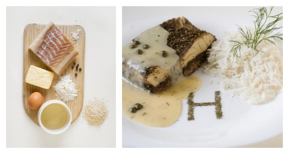 Helvetica is fish with Swiss Geneva sauce (Because the font's originally Swiss, duh!) [Photo: Prim Prim]