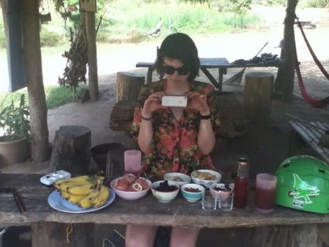 Camping! So Organic! iPhones!