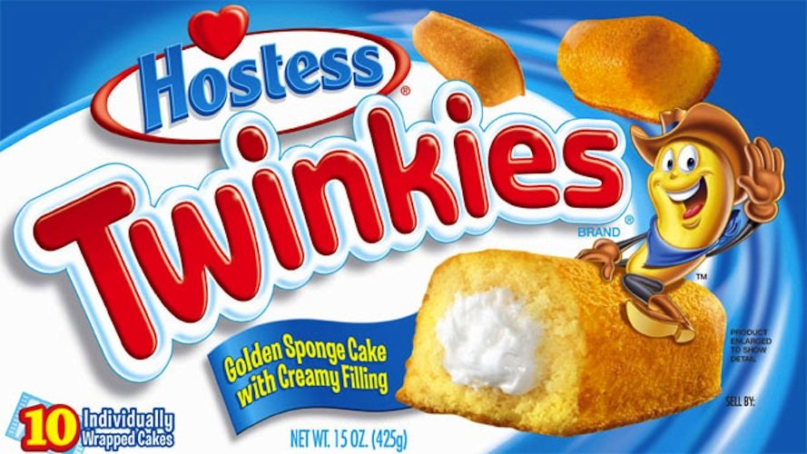 The Twinkie could soon be healthy(ish). Hostess's new owners—Metropoulos & Co. and Apollo Global Management—plan to invest in some R&D, hoping to lure in customers put off by Twinkies' junk food rep with healthier varieties, including stevia-sweetened and gluten-free. Somehow we doubt Michael Pollan would approve of whatever they plan to put in Twinkies instead of plain ol' flour. (Photo: Hostess)