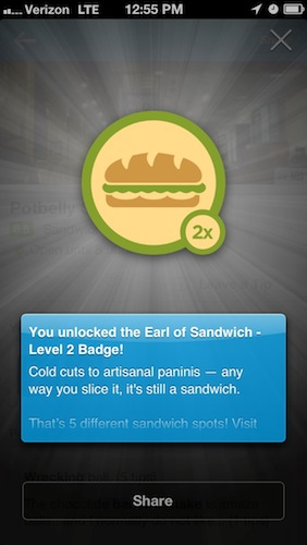 """""""Even Foursquare can't help themselves."""""""