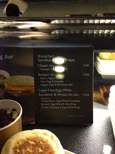 """Whatever """"artisan"""" is, Starbucks has a whole menu category for it."""