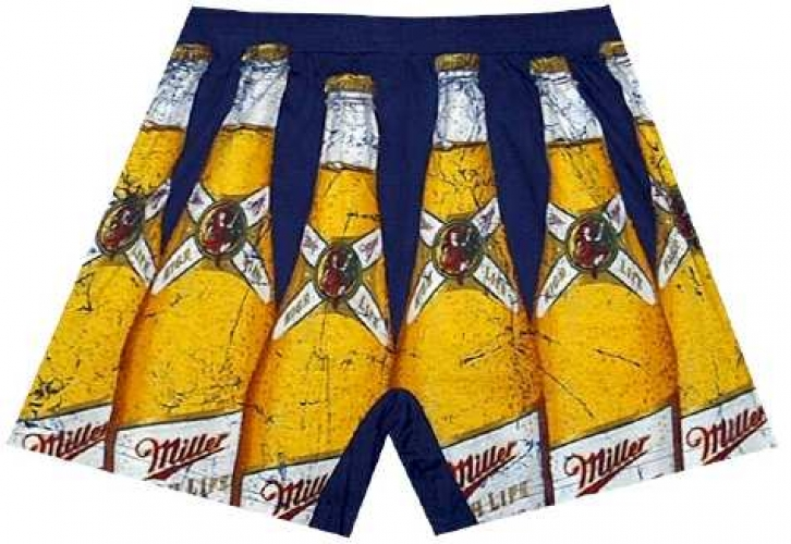 The champagne of beers never stops glowing, and looks particularly appealing on your boxer briefs. Available online at