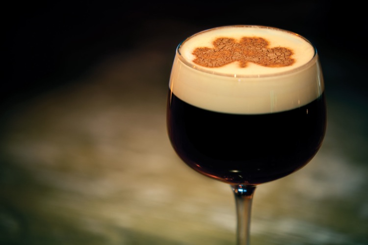 Irish Coffee. If you can't decide between coffee or a cocktail at brunch, this is the drink for you. Made with strong hot coffee, whiskey, sugar, and topped with a layer of cream, this classic eye opener is perfect for brunching with a slight hangover, especially in the colder months. Bookalokal)