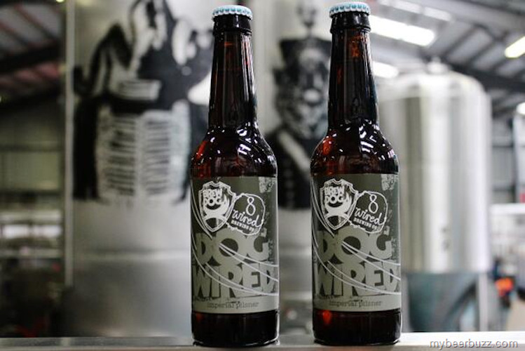 When BrewDog and 8Wired team up, you know the results will be slick, since they both privilege aesthetics over proper grammar.