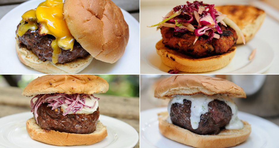 Make the best burger you've ever made. You could make a regular-old burger, or you could make one of these next-level patties. Dream big!