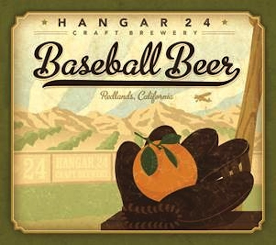Hangar 24 pays tribute to baseball, old-school aviation, and fruit.