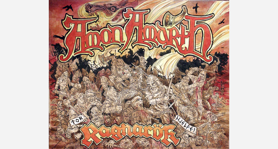 """""""The first [craft beer/metal collaboration] I ever saw was Three Floyds with Amon Amarth,"""" Jester King co-founder Jeffrey Stuffings says. """"I haven't got to drink the beer yet, but the label art is incredible."""""""