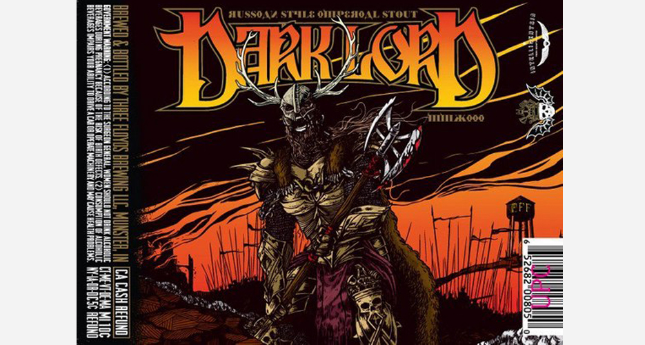 Since 2004, Three Floyds has released its rare Russian Imperial Stout, Dark Lord, on Dark Lord Day. Attendees wait in line for a chance to buy bottles and see live bands like High on Fire, Pig Destroyer, and Lair of the Minotaur.
