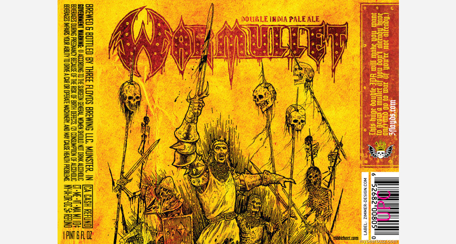 """Three Floyds' forthcoming Warmullet will """"make you want to grow a mullet (if you don't already have one) and go to war (if you're not already)."""""""