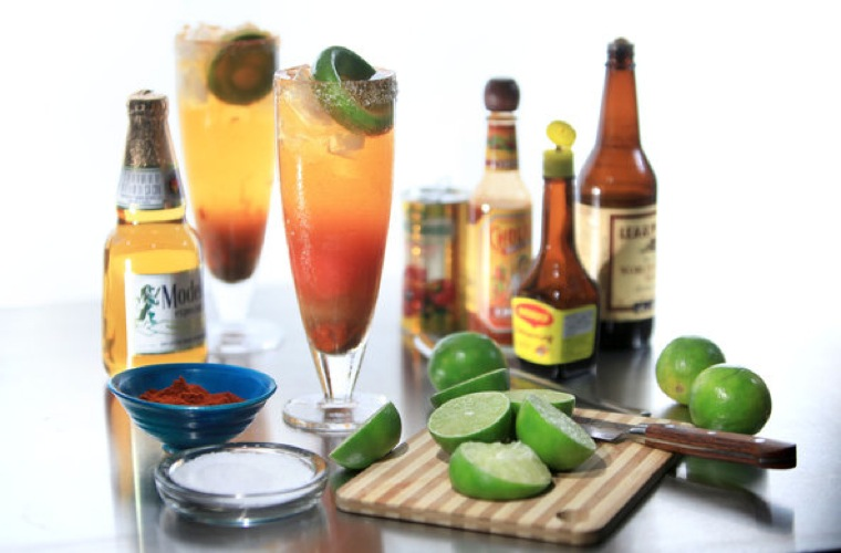 Michelada. Suds are often passed over when it comes to brunch drinks, and unfairly so. Often thought to be a hangover cure, this bracing beer cocktail is packed with flavor thanks to the addition of lime, hot sauce, worcestershire sauce, and plenty of spices. New York Times)