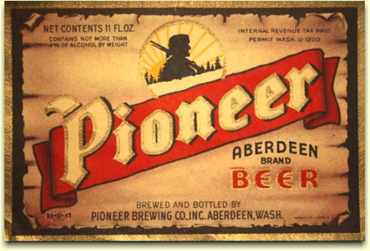 Pioneer Beer had so many great labels depicting the American West (though some, depicting Native Americans, are probably slightly racist in hindsight).