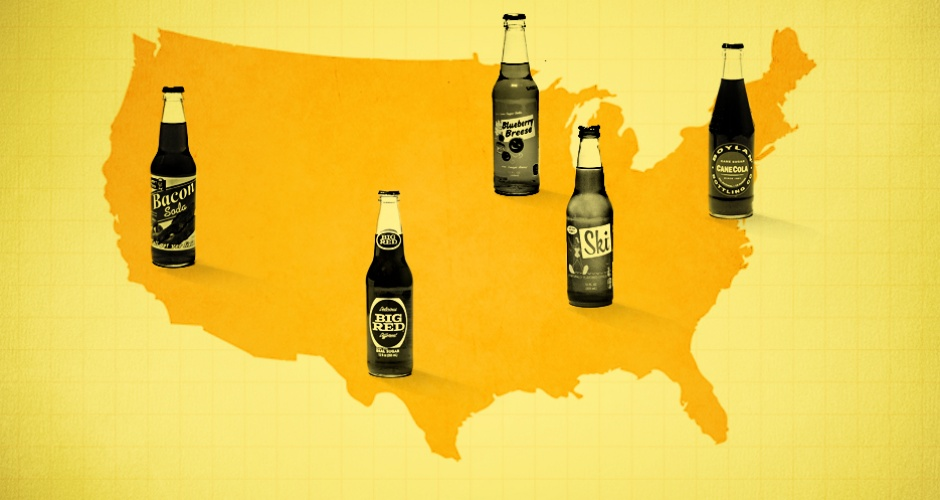 Try the best regional sodas from around the country. For a more G-rated addition to your cooler selection,