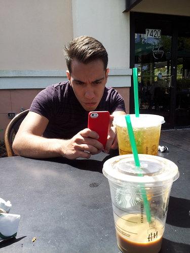 Best hair at Starbucks for sure!