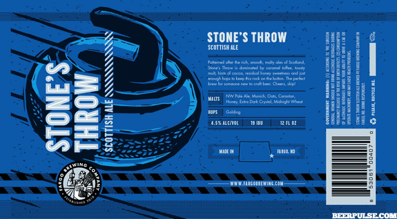 Any beer label inspired by curling gets my nod of approval.