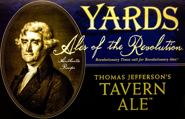 """The Yards """"Ales of the Revolution"""" series resurrects beer recipes that honor our founding fathers."""