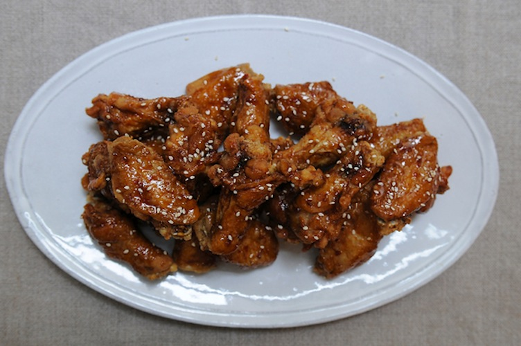 KFC Korean Fried Chicken Wings. You don't know the first thing about addictive food until you've tried these wings. They're coated in a spicy ginger soy sauce and fried not once, but twice, giving them a ridiculously crispy skin. You can't have just one.