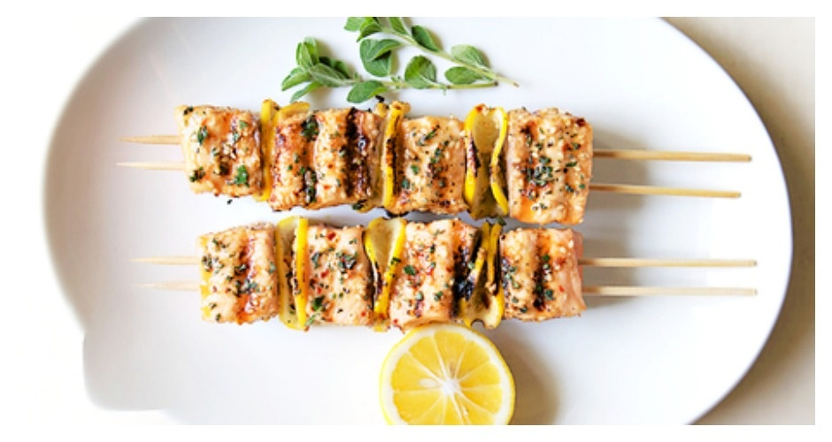 Barbecuing Trick: Use Two Skewers For Kebabs Instead of One. When barbecuing meat and veggies, use two skewers per kebab to prevent individual pieces from rotating as you flip them on the grill. (And don't forget to soak the skewers in water for 30 minutes beforehand, to keep them from burning). (Photo: BuffFeed)