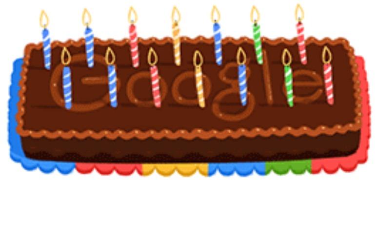Google's 14th Birthday. (Photo: Google)