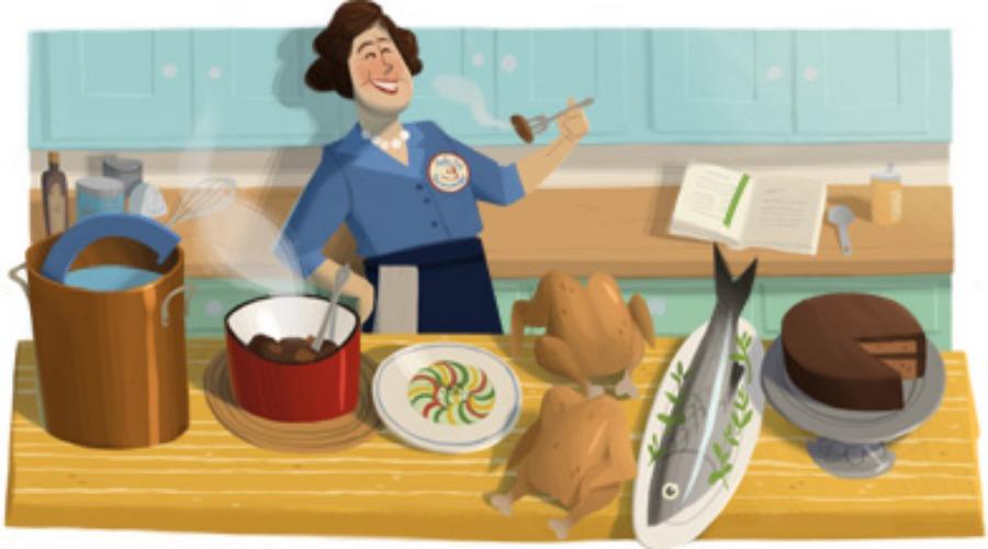 Julia Child's 100th Birthday. (Photo: Google)