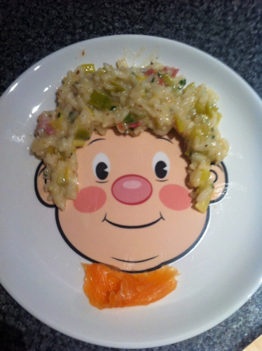 Leek and Risotto