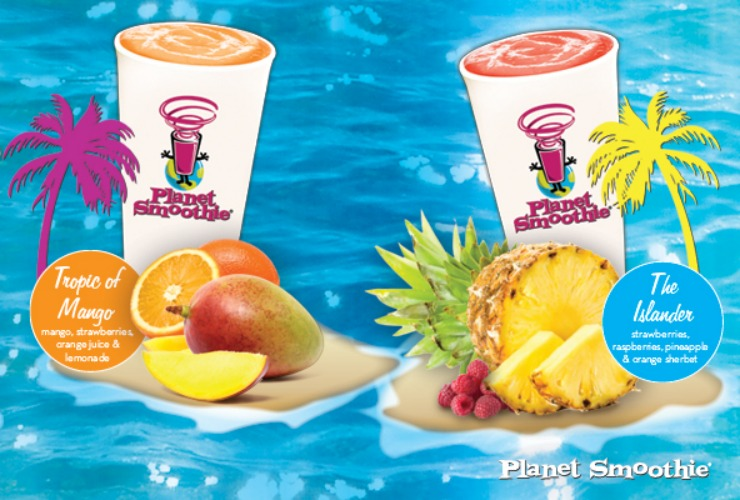 Name: Planet Smoothie Website: PlanetSmoothie.com Least Expensive Item: $2.95 for 12oz of freshly squeezed OJ Most Expensive Item: $8.45 for 44oz of Planet Pro Good For: Those who'd be just as happy going to Jamba Juice, but don't have one close-by (this juicery is the Taco Bell to Jamba's McDonald's.)