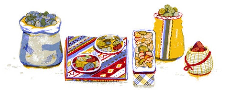 Potato Day 2013. A national day to celebrate the potato in Peru, where potatoes originated and thousands of varieties exist today.(Photo: Google)