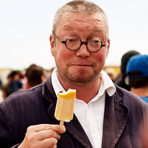 Here's a photo of Fergus Henderson of London's St John restaurant from MAD2, just because it's so awesome. (Photo: madsymposium)