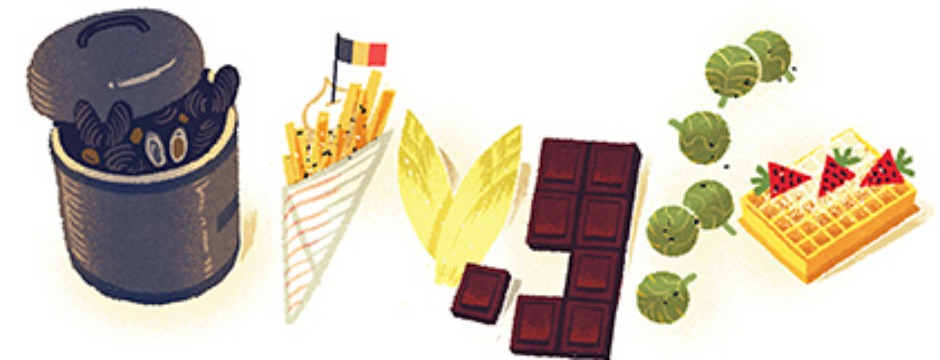 Belgium National Day 2012, because we have the Belgians to thank for mussels and frites, Belgian chocolate, Brussels sprouts, waffles, and Belgian endive. (Photo: Google)
