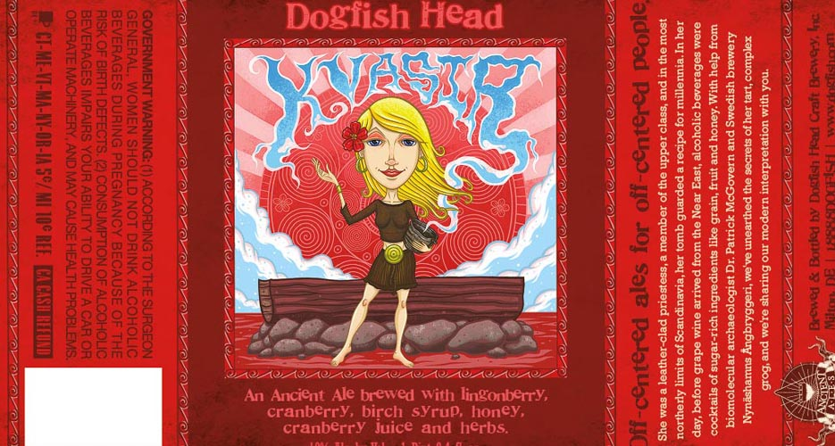 Another ancient ale from Dogfish, another great label.