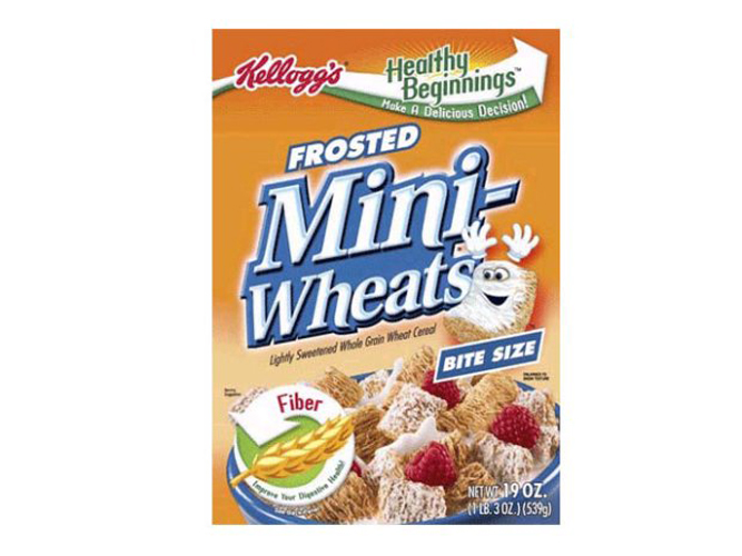 Product: Frosted Mini Wheats  Year: 2013  Scandal: We'll admit it, Mini Wheats may be one of our favorite morning pick-me-ups, and kids dig it, but after the sugar rush wears off, the cereal offers few tangible cognitive benefits. Earlier this year, Kellogg's settled a class action lawsuit when lawyers proved the cereal does absolutely nothing for kids' attentiveness, memory and other mental functions, contrary to advertising claims.  Outcome: Kellogg's changed its labeling and paid $4 million in damages to consumers.