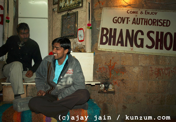 The narcotic drink hang originated in India in the 10th century. (Photo: ajay jain)
