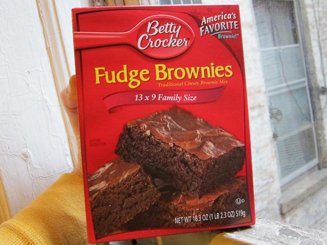 Nobody wants to bother with expensive gourmet brownies where your objective is getting high. (Photo: Robert Sietsema)