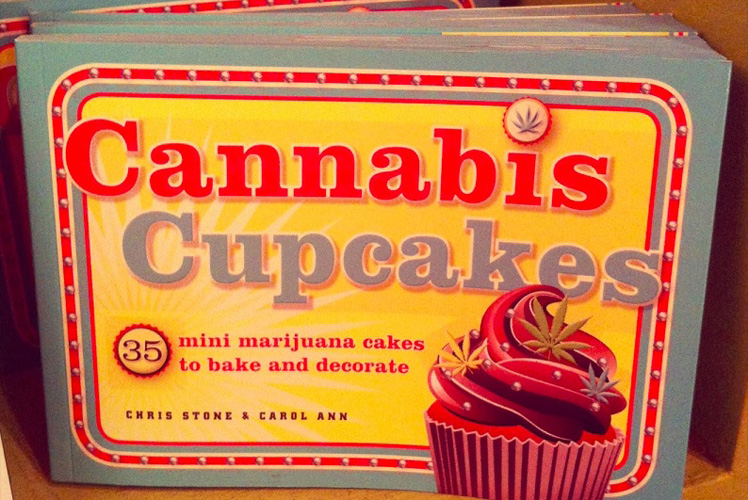 Cannabis Cupcakes is just one of many cookbooks devoted to cooking with marijuana. (Photo:
