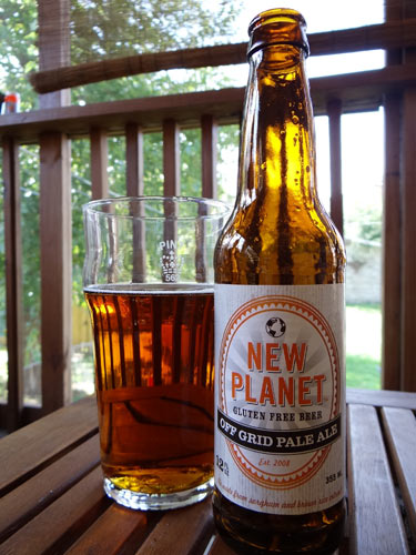 New Planet Off Grid Pale Ale (Photo: Gluten Free For Men)
