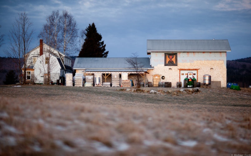 Hill Farmstead Brewery, Vermont.