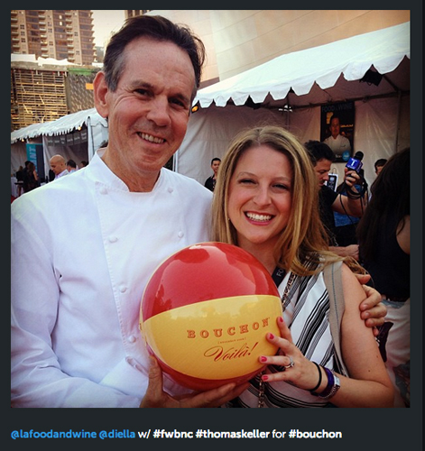 The one and only Thomas Keller spent his weekend at the L.A. Food & Wine fest as well. Don't you wish you were there? (Photo: